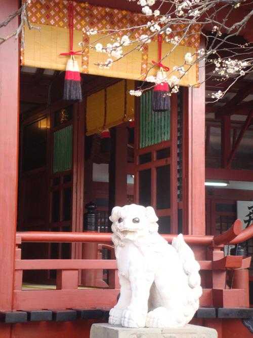 飛梅殿の狛犬.jpg